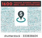 geo targeting raster icon and... | Shutterstock . vector #333838604