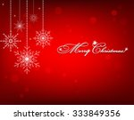 christmas background with... | Shutterstock .eps vector #333849356