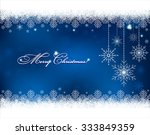 christmas background with... | Shutterstock .eps vector #333849359