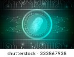 abstract technology background... | Shutterstock . vector #333867938