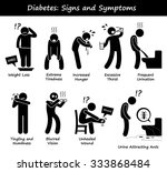 diabetes mellitus diabetic high ... | Shutterstock .eps vector #333868484