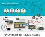 set of flat design vector...   Shutterstock .eps vector #333876383