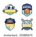 set of soccer  football ...   Shutterstock .eps vector #333880673