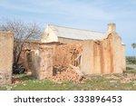 ruins of an old village near... | Shutterstock . vector #333896453