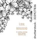 romantic invitation. wedding ... | Shutterstock . vector #333927836