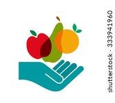 vector sign greengrocer. slow... | Shutterstock .eps vector #333941960