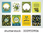 big set of brazil  carnival... | Shutterstock .eps vector #333953906