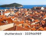 dubrovnik  croatia   26 august... | Shutterstock . vector #333966989