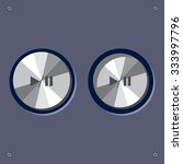 web  ui vector animated buttons....