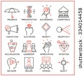vector set of 16 icons related... | Shutterstock .eps vector #334014458