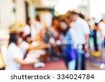 abstract blur people... | Shutterstock . vector #334024784