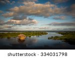 Panoramic View Of The Amazon...