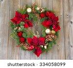 Traditional Christmas Wreath O...