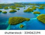 beautiful view of palau... | Shutterstock . vector #334062194