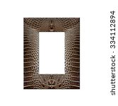 Постер, плакат: Picture frame made from