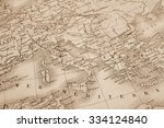 antique map of the world  the... | Shutterstock . vector #334124840