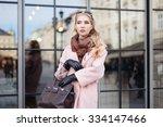 fashion photo of beautiful... | Shutterstock . vector #334147466