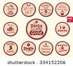 christmas labels  stickers ...