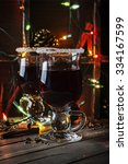 traditional winter mulled wine... | Shutterstock . vector #334167599