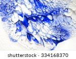 abstract paint oil color ... | Shutterstock . vector #334168370