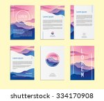 abstract mountain  identity... | Shutterstock .eps vector #334170908