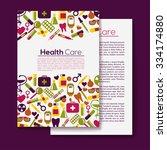 medical flyer background.... | Shutterstock .eps vector #334174880