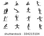 shapes sports symbol for web... | Shutterstock .eps vector #334215104