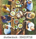 friends friendship outdoor... | Shutterstock . vector #334219718