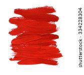 red abstract stroke. colorful... | Shutterstock . vector #334228304