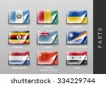 set of flags of all the...   Shutterstock .eps vector #334229744