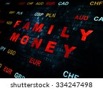 banking concept  pixelated red... | Shutterstock . vector #334247498
