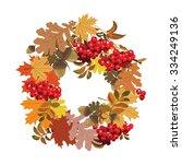 Beautiful Autumnal Frame Of...