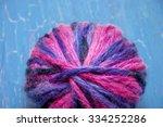 Multicolor Tangle Of Purple On...