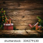 Christmas Background. Empty...