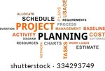 a word cloud of project...   Shutterstock .eps vector #334293749