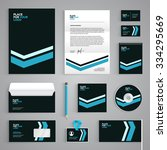 corporate identity branding... | Shutterstock .eps vector #334295669