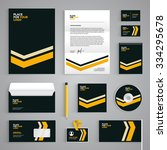 corporate identity branding... | Shutterstock .eps vector #334295678