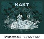 karting background | Shutterstock .eps vector #334297430
