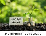 save money for investment... | Shutterstock . vector #334310270