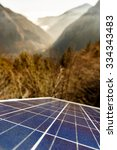 Closeup Of Photovoltaic Solar...
