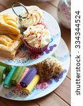 Small photo of Afternoon tea with cake stand set
