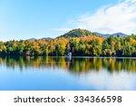 adirondacks peak fall foliage... | Shutterstock . vector #334366598