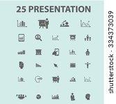 presentation  chart  diagram ... | Shutterstock .eps vector #334373039