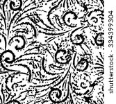 black friday calligraphic...   Shutterstock .eps vector #334399304