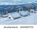 Abandoned Hut  Cabins  In High...