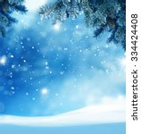 Beautiful Abstract Winter...