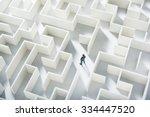 business challenge. a... | Shutterstock . vector #334447520