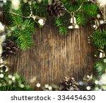 christmas frame   Shutterstock . vector #334454630