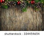 Christmas Frame. Christmas Fir...