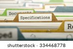specifications concept. colored ... | Shutterstock . vector #334468778